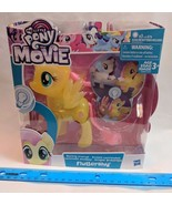 My Little Pony the Movie FLUTTERSHY Shining Friends Light Up NEW Large 6... - $17.00