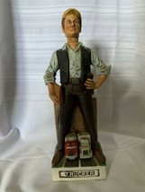 Vintage 1978 Old Bardstown Trucker Whiskey Decanter Empty - $14.01