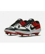 Nike Alpha Huarache Elite 2 Metal Baseball Cleats Red Black AJ6873-106 S... - $49.96