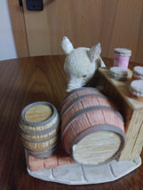 "1989 Heritage Mint Little Nook Village Peter ""Porky"" Trotter Leonardo Figurine image 3"