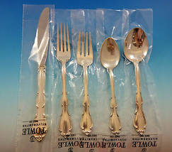 Fontana by Towle Sterling Silver Flatware Set for 8 Service 40 Pieces New - $2,950.00