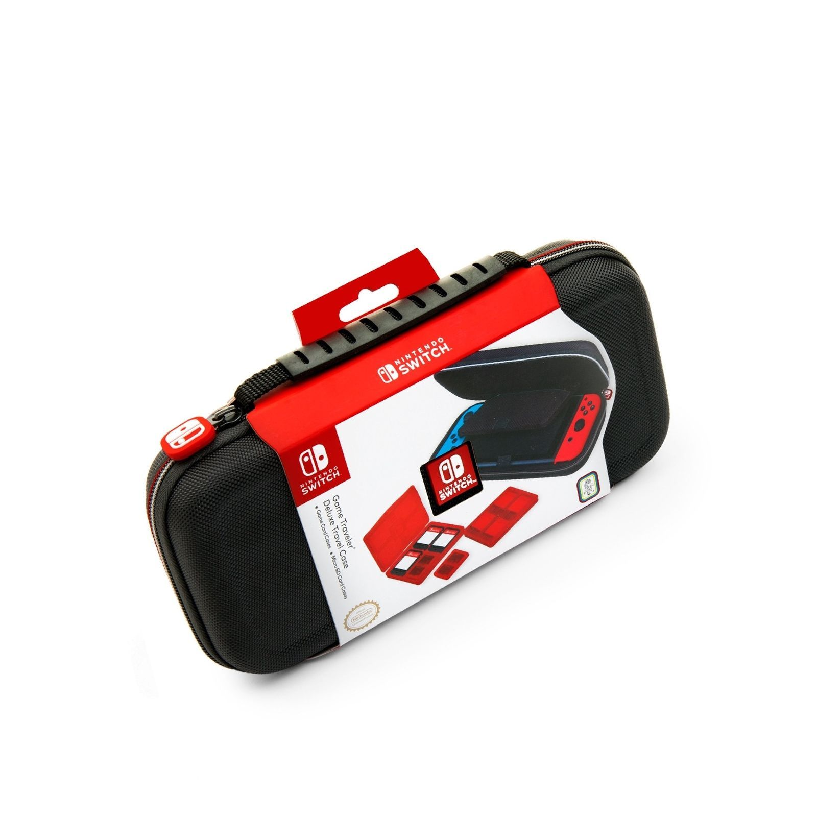 NINTENDO SWITCH DELUXE TRAVEL CASE - PREMIUM HARD CASE MADE WITH BALLISTIC NY...