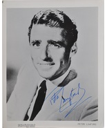 PETER LAWFORD SIGNED AUTOGRAPHED PHOTO - THE RAT PACK w/COA - $729.00