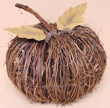 """Natural Twig Pumpkin, 10"""" - $37.08"""