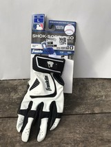 New Franklin Shok-Sorb Neo Baseball Batting Gloves Youth Size L White & ... - $14.75