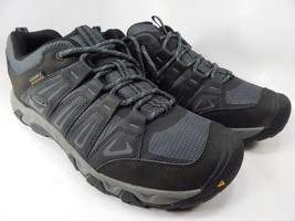 Keen Oakridge Size US 11 M (D) EU 44.5 Men's WP Trail Hiking Shoes Gray 1015313