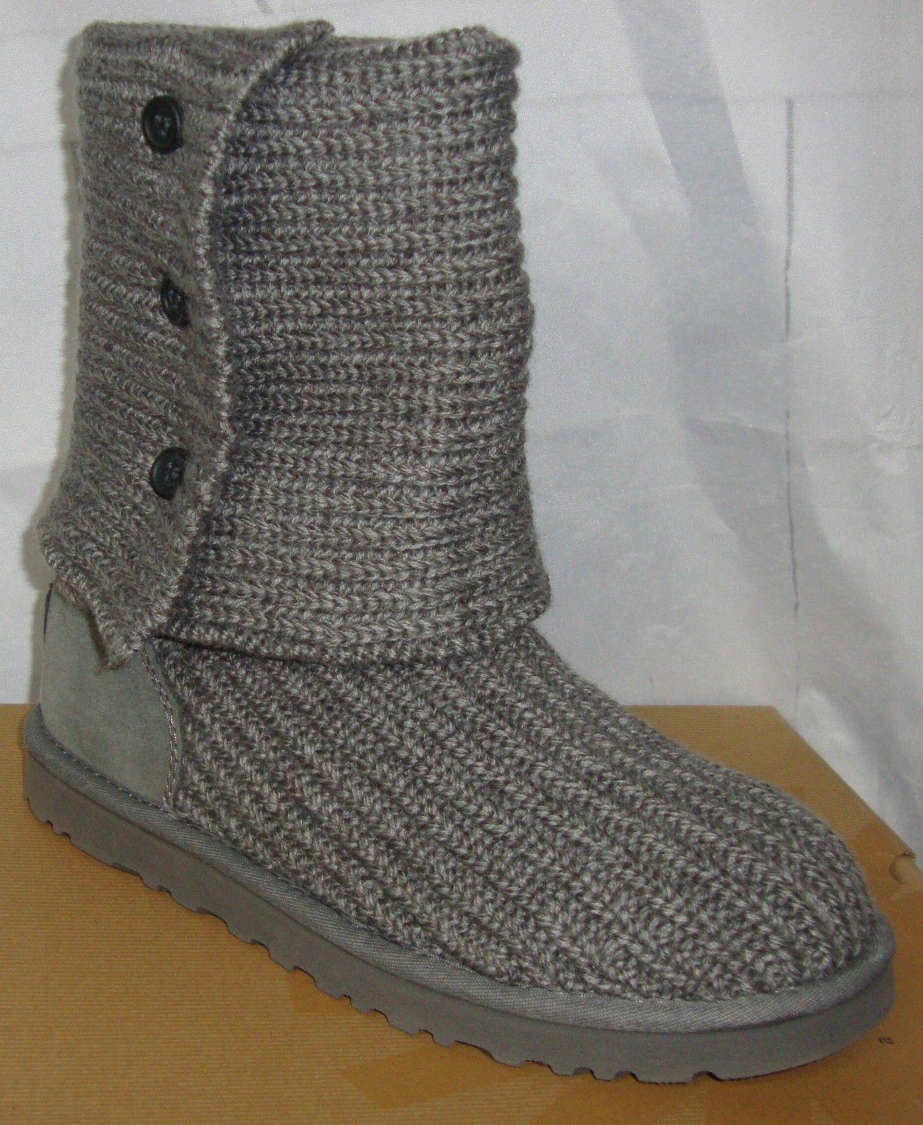 f794e57cd46 UGG Australia Grey Gray Classic Cardy Knit and similar items