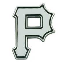 Fanmats MLB Pittsburgh Pirates Diecast 3D Chrome Emblem Car Truck RV 2-4 Day Del - $14.84