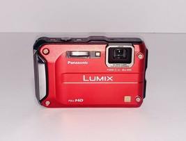 Panasonic Lumix DMC-TS3 / DMC-FT3 12.1MP Digital Camera - Red - $148.49