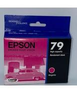 Epson 79 Magenta High Capacity Ink Cartridge 09/2022 OEM - $19.20