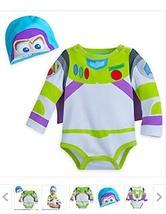 buzz Disney Lightyear Costume Bodysuit For Baby - Size 18-24 Months - $24.95