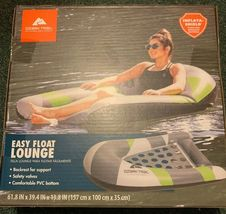 Ozark Trail Easy Float Lounge Inflatable Tube Puncture Resistant - $29.99
