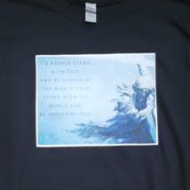 Stand With God Black T-Shirt | Christian Apparel | Christian Shirt | Ships Free image 2