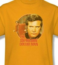 The Six Million Dollar Man Colonel Steve Austin Retro 70s graphic tee NBC526 image 2