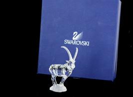 NIB Swarovski Crystal Ibex Retired 2004 Mint Endangered Species Figurine - $149.39