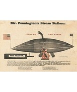 Wall Decor Poster.Home Room interior.Victorian American steam balloon.11628 - $10.89+