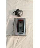Vintage Panasonic Model No. RQ-342D One Touch Mini Cassette Recorder Aut... - $29.70