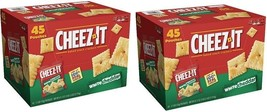 Kellogg's Cheez-it Crackers White Cheddar Snack 1.5 oz Pk 90 Packs FREE SHIPPING - $46.04
