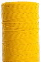 1.2mm Yellow Ritza 25 Tiger Wax Thread For Hand Sewing. 25 - 125m length (50m) - $11.76