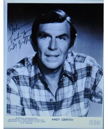 ANDY GRIFFITH SIGNED PHOTO - No Time For Sergeants - Mayberry R.F.D. w/COA - $269.00