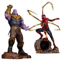 Marvel superheros Thanos ARTFX spiderman Infinity War toys figure Thanos... - $36.70