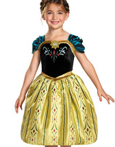 Disney Frozen Princess Anna Classic Coronation Gown Child Costume 76903 - $26.49