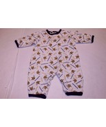 Infant/Baby Minnesota Vikings 3/6 Months L/S Outfit Pajamas PJs (White) ... - $9.49