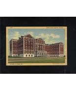 UNITED STATES VETERANS HOSPITAL DALLAS AT LISBON TEXAS  LINEN POSTCARD - $7.43