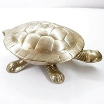 Vintage Zodax Turtle Tea Light Candle Holder Made In India - £11.40 GBP