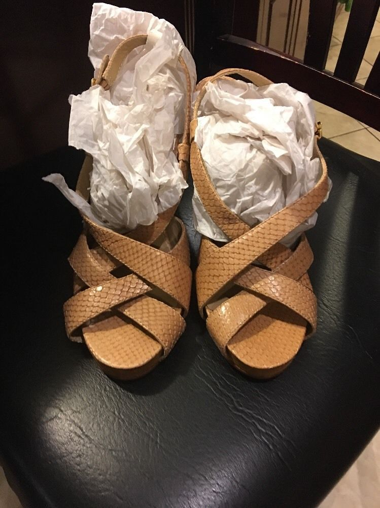 f31ce616300d Michael Kors Wedge Heels shoes 8.5 leather and 50 similar items