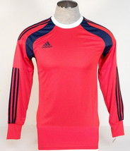 Adidas AdiZero Onore 14 GK Red & Blue Long Sleeve GoalKeeper Jersey Men'... - $59.99