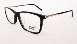 MONTBLANC Men's Optical Frames MB0626-F A01 55-16-145 Blk/Gold MADE IN I... - $199.95
