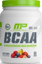 MusclePharm Essentials BCAA Powder, Post-Workout Recovery Drink, Fruit P... - $30.32