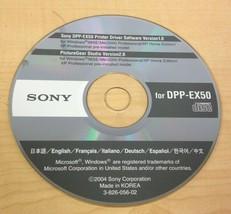 Sony Thermal Digital Photo Printer Software CD (Multiple Models) - $7.27+