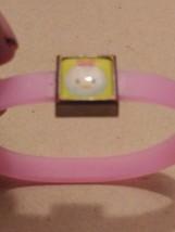 Vintage Hello Kitty, Childens Pink Rubber Bracelet - $3.99