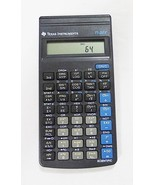 Texas Instruments TI-35X scientific calculator cover and quick reference... - $13.85
