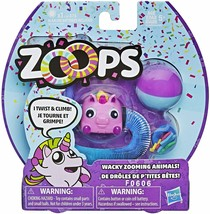 New Hasbro Zoops Electronic Twisting Zooming Climbing Toy Pink Unicorn I... - $6.49
