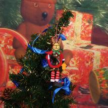 (fawn)Christmas DIY Wooden Hangings Pendants Bell Christmas Tree Decorat... - $14.00