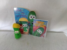 VeggieTales Gift Set, Junior Asparagus Toy, God Love You Very Much, DVD ... - $8.25