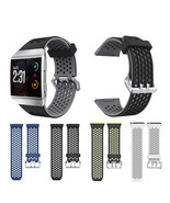 22mm Large Watch Band Silicone Strap Replacement for Fitbit Ionic Smart ... - $15.60