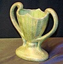 Collector's USA Green Vase 40 AB 154 Vintage image 3