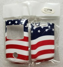 Motorola T720 T720i Front and Back Cover United States Flag NOS - $11.87