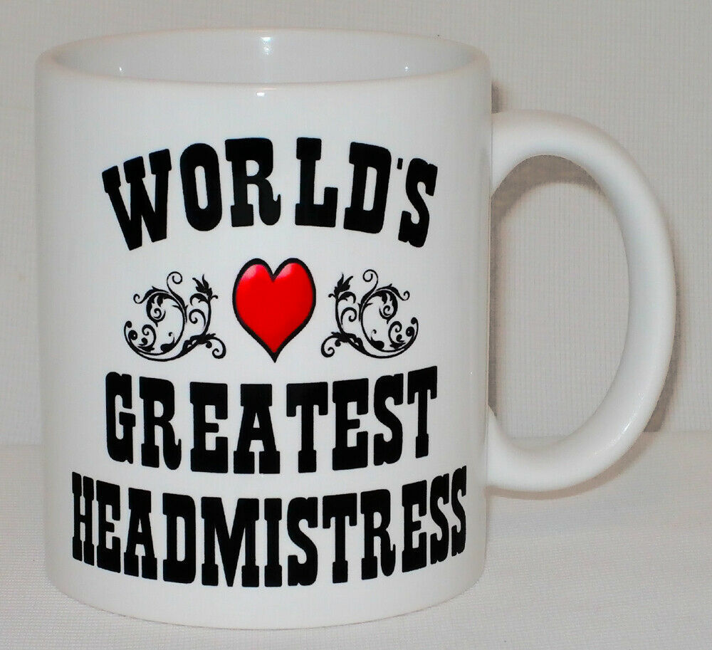 World's Greatest Headmistress Mug Can Personalise Great School Head Principal image 2