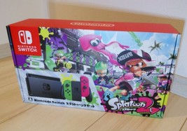 Nintendo Switch Splatoon 2 limited edition console (Neon Green / Neon Pink) - $614.82