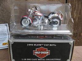 Maisto Avon Harley Davidson 1999 FLSTF Fat Boy 1:18  - $11.87
