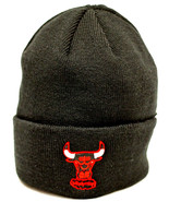 47 Brand  NBA Chicago Bulls Classic Cuffed Knit Beanie Hat Cap Black - $16.82