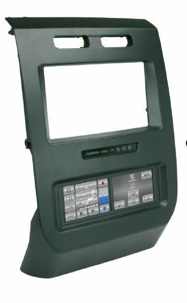 SCOSCHE ITCCR04B 2013-Up Dodge Ram Touchscreen Controls (2.0) Dash Kit