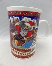 """Dunoon Stoneware - Christmas 2002 - fine china mug - 4"""" tall - England -... - $7.92"""
