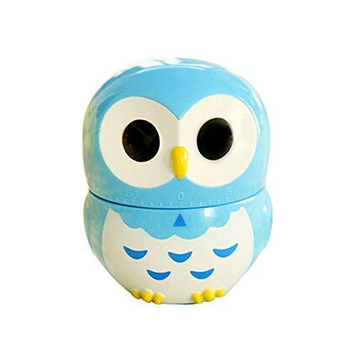 Primary image for Cute Owl Mechanical Movement Kitchen Timer/Reminder-60 Minutes BLUE