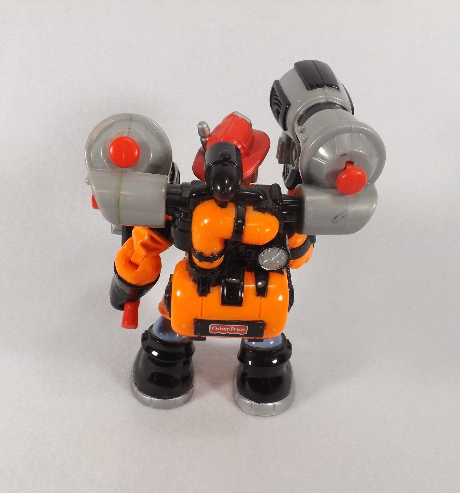 FISHER PRICE RESCUE HEROES ACTION FIGURE BILLY BLAZES LAVA SQUAD